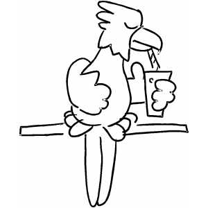 lion drinking water coloring pages   Index of /samples/Birds