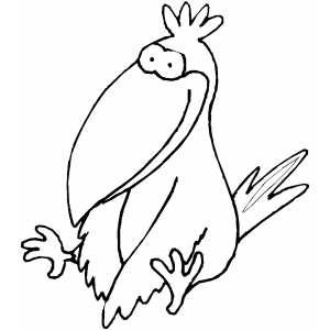 coloring pages crow - photo#34