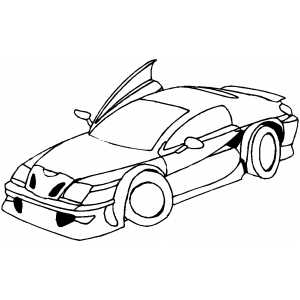 Lamborghini on Lamborghini Diablo Sport Car Free Coloring Sheet