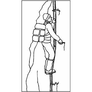 mountain climber coloring pages - photo#18