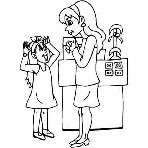 coloring pages shopping - photo#17