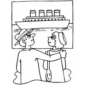 us history coloring sheets - Titanic Coloring Pages Printable